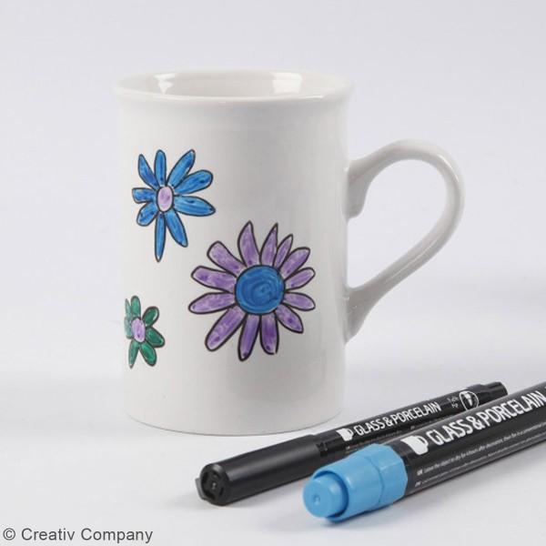 Feutre pailleté pour verre et porcelaine - Semi Opaque - 2 à 4 mm - Photo n°2
