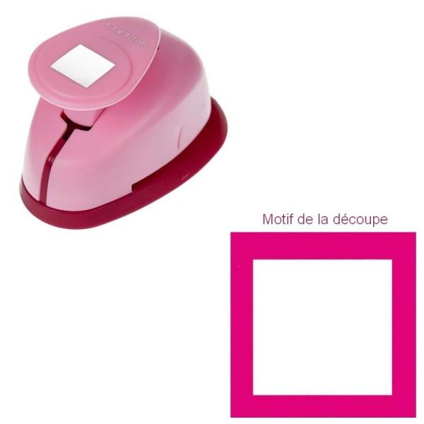 Mini Perforatrice motif carré,  11 x 11 mm - 5/8 pouce - Photo n°1