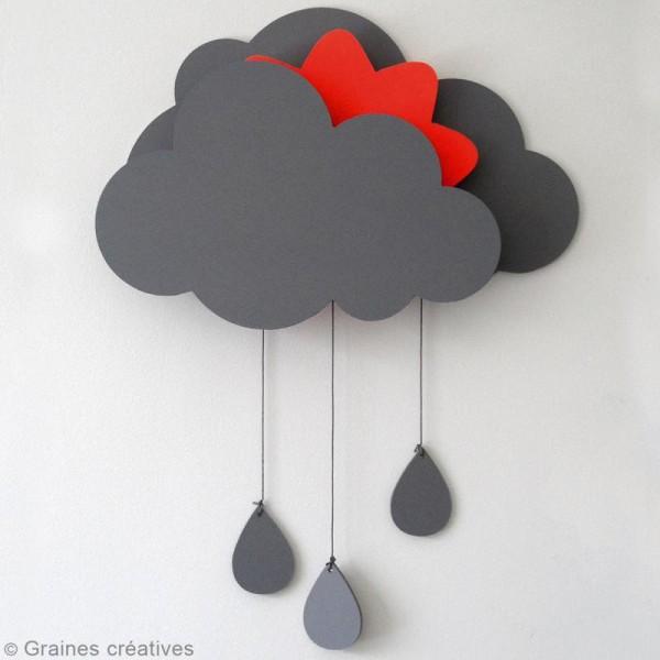 Kit nuage à décorer avec boîte à musique - 39 x 50 cm - Photo n°3