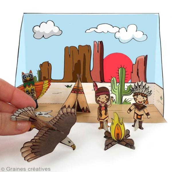 Kit plastique dingue 3D - Indien - Photo n°2