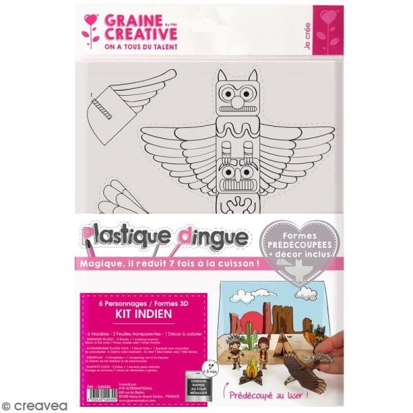 Kit plastique dingue 3D - Indien - Photo n°1