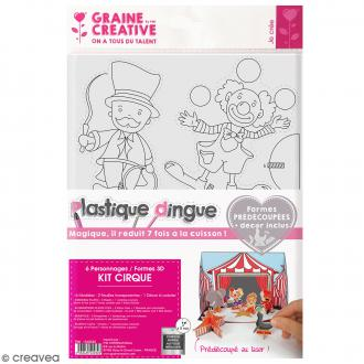 Kit plastique dingue 3D - Cirque