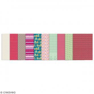 Set de 30 feuilles Gluepatch - Pack atelier - 30 x 40 cm