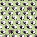 Serviette à l'unité - Moutons - Photo n°1