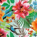 Serviette à l'unité - Paradis tropical