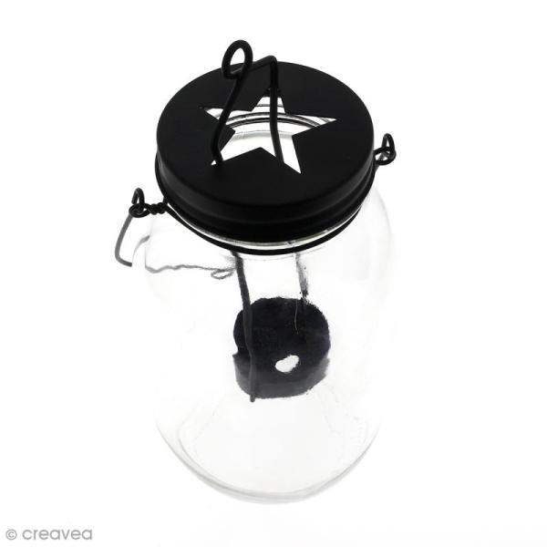 Pot lanterne étoile - 9 x 21,5 cm - Photo n°2