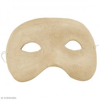 Masque Loup à décorer - 15,5 x 8,5 cm
