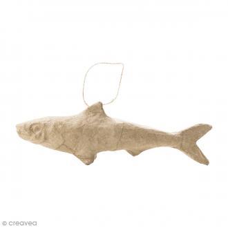 Figurine Sardine à décorer - 17 x 5,5 cm