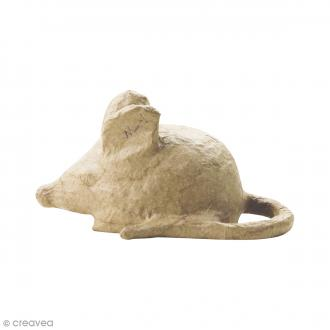 Figurine Souris à décorer - 11 x 5,5 cm