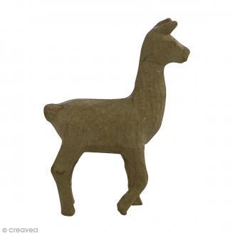 Figurine Lama à décorer - 15,5 x 10,5 cm