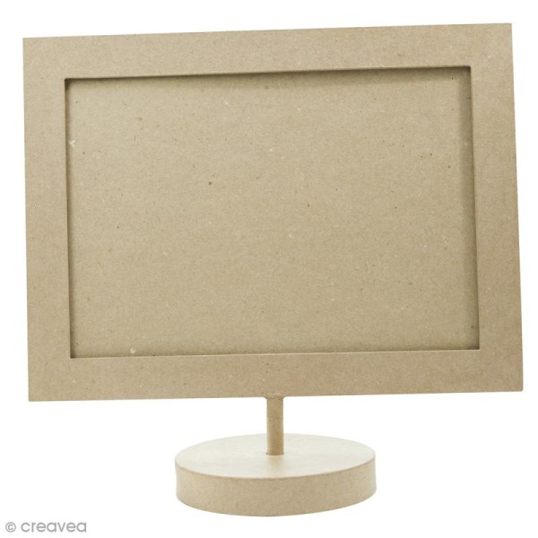 Cadre pour format A4 en papier maché Décopatch - 34,5 x 24 cm - Photo n°1
