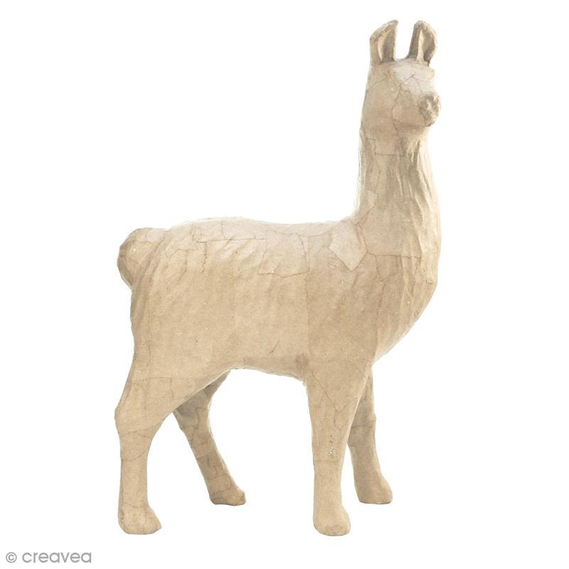 Lama à décorer - 51 x 35 x 16 cm - Photo n°1