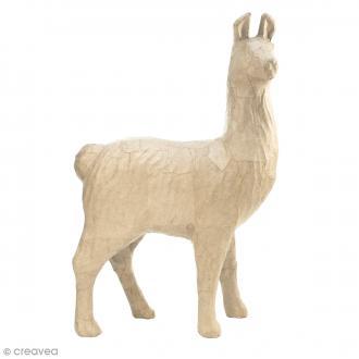 Lama à décorer - 51 x 35 x 16 cm