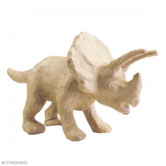 Triceratops à décorer - 26 x 16 x 13 cm