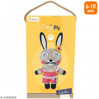 Kit créatif Little Couz'in - Giulia le lapin