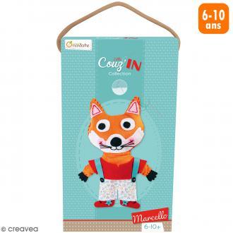 Kit créatif Little Couz'in - Marcello le renard