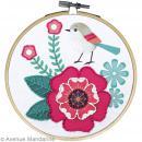 Kit de broderie Pix' Gallery - Rose - Photo n°3
