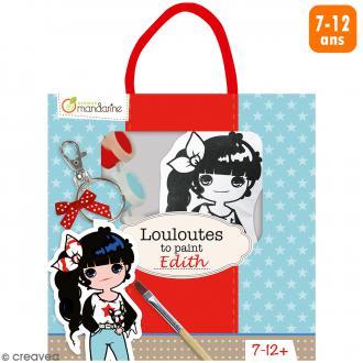 Kit créatif Les Louloutes à peindre - Edith