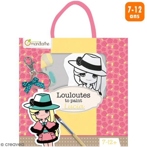 Kit créatif Les Louloutes à peindre - Lucia - Photo n°1