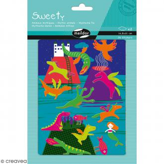 Stickers Fantaisie Sweety - Animaux Mythiques - 26 pcs