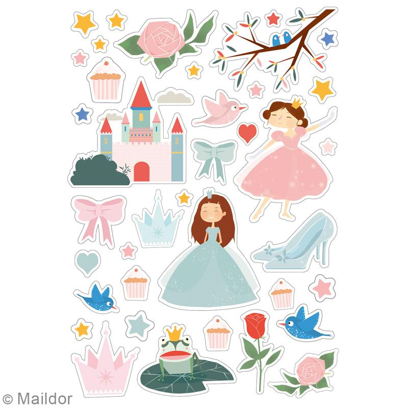 Autocollants Dreamy - Princesses - 219 pcs - Photo n°2