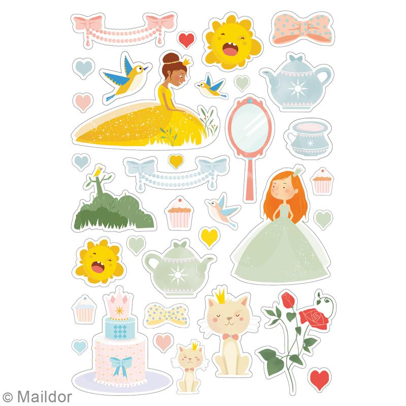 Autocollants Dreamy - Princesses - 219 pcs - Photo n°3