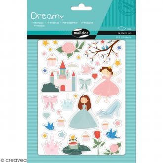 Autocollants Dreamy - Princesses - 219 pcs
