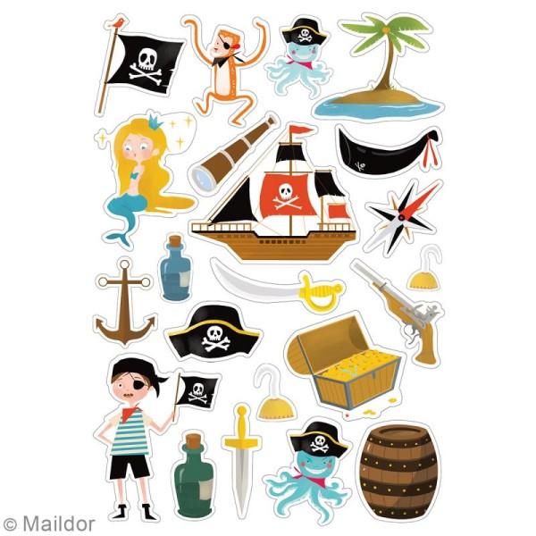 Autocollants Dreamy - Pirates - 138 pcs - Photo n°3