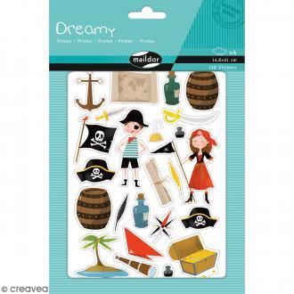 Autocollants Dreamy - Pirates - 138 pcs