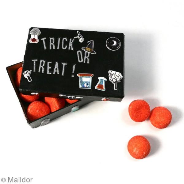 Stickers Fantaisie Cooky - Halloween - 1 planche 7,5 x 12 cm - Photo n°3