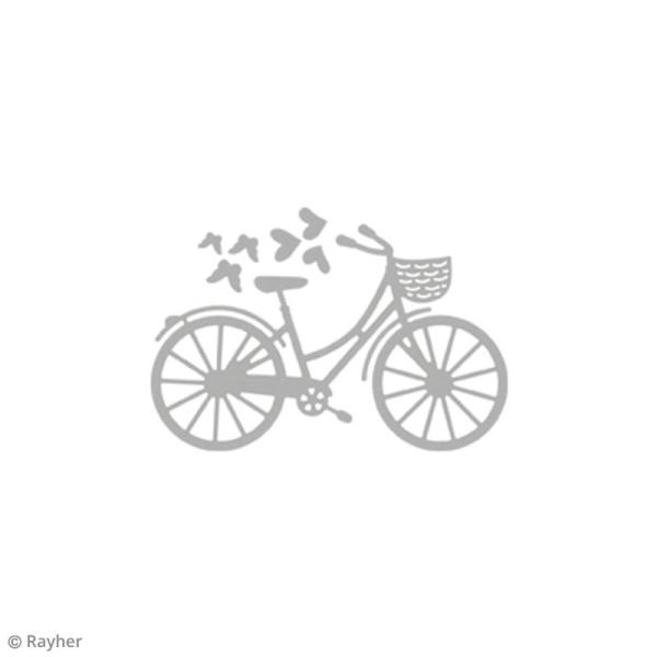 Matrice de découpe Vélo - 8 x 5,5 cm - Photo n°2