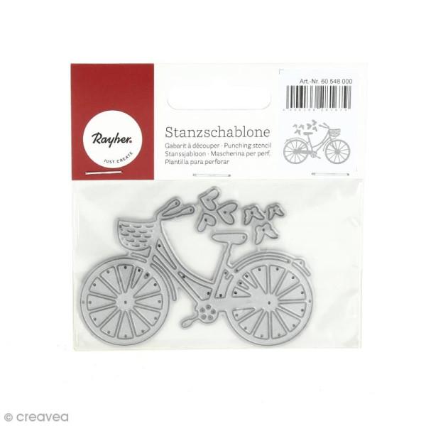 Matrice de découpe Vélo - 8 x 5,5 cm - Photo n°1