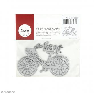 Matrice de découpe Vélo - 8 x 5,5 cm
