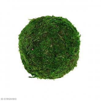 Boule de polystyrène avec mousse - 9 cm