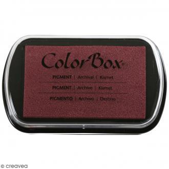 Encreur à pigment Color Box - Pourpre (Kismet) - 7,5 x 4,5 cm