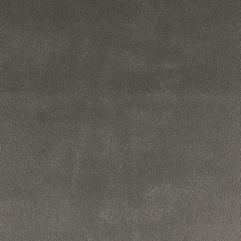 Feuille simili cuir - Gris anthracite - 30 x 30 cm - Photo n°1