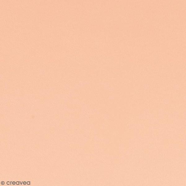 Feuille simili cuir - Rose orchidée - 30 x 30 cm - Photo n°1