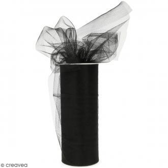 Rouleau de Tulle - Noir - 15 x 2300 cm