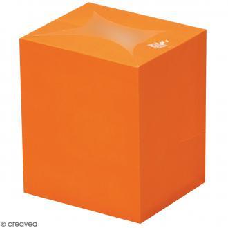 Lanterne en papier non inflammable - Orange