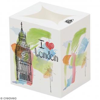 Lanterne en papier non inflammable - Souvenirs de Londres
