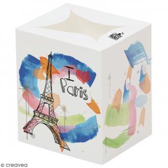 Lanterne en papier non inflammable - Souvenirs de Paris