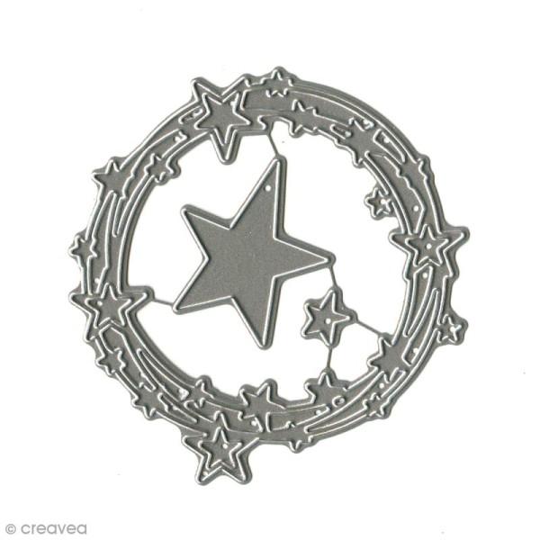 Dies Florilèges Design - Ronde d'étoiles - 3 pcs - Photo n°2