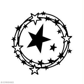 Dies Florilèges Design - Ronde d'étoiles - 3 pcs
