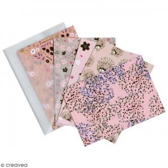 Kit de cartes et enveloppes - Bouquet Sauvage - 10 pcs
