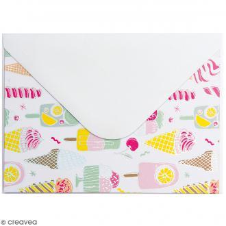 Kit de cartes et enveloppes - Magical Summer - 12 pcs