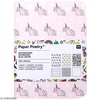 Carnets Bloc-Notes - Magical Summer - 10,5 x 14 cm - 3 pcs