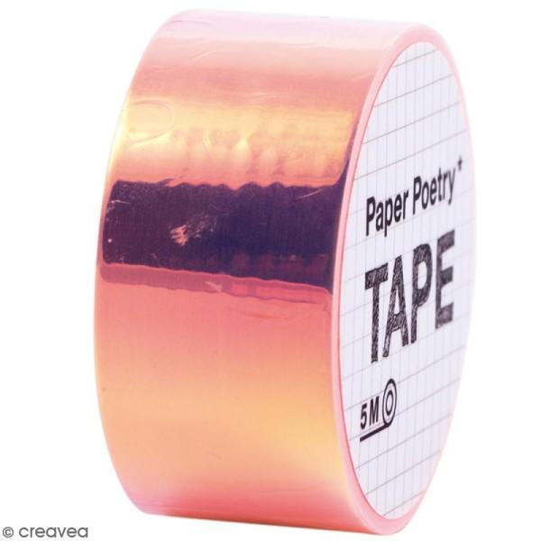 Masking tape Miroir - Arc-en-ciel Orange - Photo n°1