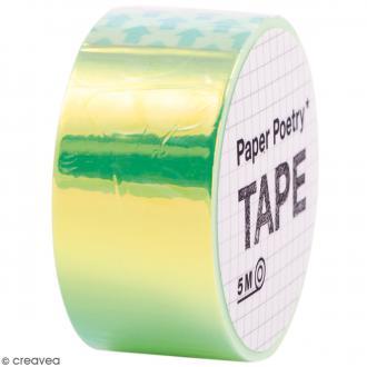 Masking tape Miroir - Arc-en-ciel Vert