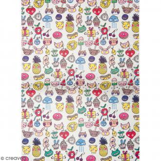 Papier décoratif à l'unité - Magical Summer - 30 x 42 cm - Kwai