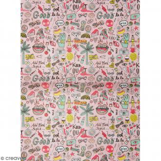 Papier décoratif à l'unité - Magical Summer - 30 x 42 cm - Summer Cool